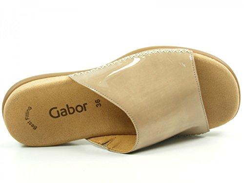 Gabor 43-705 Tongs femme Beige