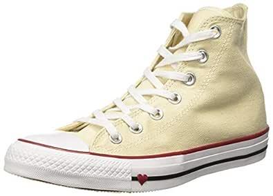 Converse Women's Textile Natural/White/Garnet Sneakers-5 UK/India (37.5 EU) (8907788162550)