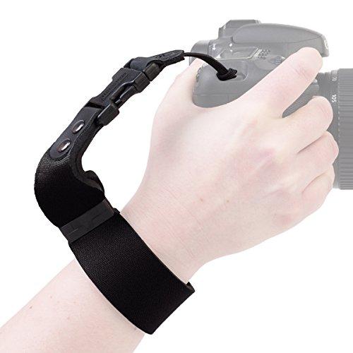 OP/TECH SLR Wrist Strap - Black -