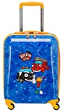 Travelite Robuste, fröhliche Kinderkoffer und Gepäckstücke Helden der Stadt machen jede Reise zum Abenteuer Kindergepäck, 28 Liter, Marine