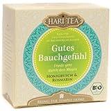 Hari Tea Gutes Bauchgefühl / Friede geht durch den Magen Honigbusch & Rosemarin, 2er Pack (2 x 20 g) - Bio