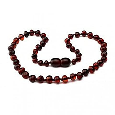 Baltic amber Necklace, Cherry, 32cm