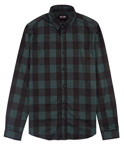 Only & Sons - Chemise casual - Homme Vert foncé