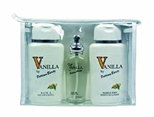 Bettina Barty Travel-Set Vanilla Hand und Body Lotion 150 ml + Vanilla Showergel 150 ml + Vanilla Eau de Toilette 50 ml