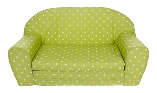 Gepetto 05.07.04.01 Kindersofa ausklappbar, grün