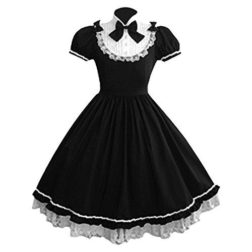 Partiss Damen Prinzessin Kleid Cosplay Kostueme Abendkleid Partykleid Lolita - Comic-con-kostüme Frauen