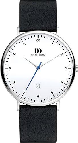 Danish Design Homme Analogique Classique Quartz Montre avec Bracelet en Cuir DZ120647