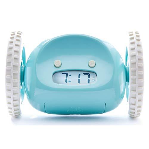 CLOCKY, Reloj Despertador Ruidoso sobre Ruedas Original | Forte para los Durmientes Pesados Clockie...
