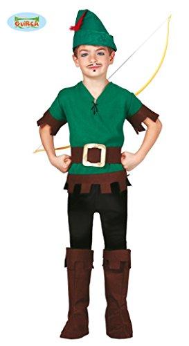 Halloween Robin Kostüme (Bogenschütze - Kostüm für Kinder Gr. 110 - 146,)