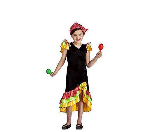 Rumbera Kostüm - Disfraz Rumbera 3-4
