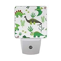 No Drama Llama Automatic LED Night Light Dusk to Dawn LED Senor Lighting,Plug in Night Lamb for Adults Bedroom Baby,Kids,Children