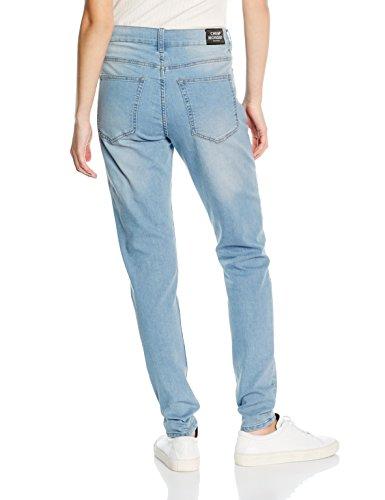 Cheap Monday Him Spray Stone Bleach - Jeans - Skinny - Homme Bleu - Blue (Stone Bleach)