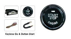 OCS.tec Kfz Startknopf Motorstart Keyless Start Motorknopf Start/Stop Go Auto AL7
