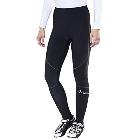 Löffler Thermo Bike pantaloni lunghi da nero 2016Pantaloni lunghi da donna, nero, 44