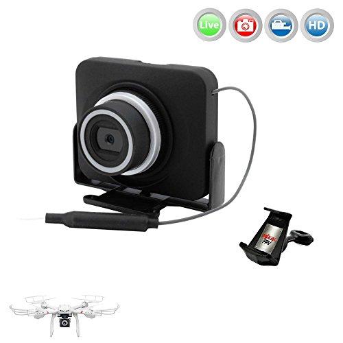 MJX C4008 HD Action Cam FPV Live Übertragung WIFI 720p HD-Kamera-Set auf Smartphone/Tablet für Mjx Quadrocopter X101,X102,X600