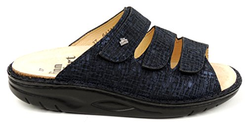 Finn Comfort Andros 521319, Mules pour Femme notte (blau)