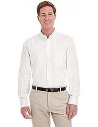 Men's Foundation 100% Cotton Long-Sleeve Twill Shirt with TeflonÖ