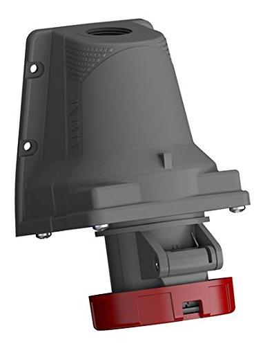 ABB 332ers6W IP673pn + E Top & Bottom Eintrag Oberfläche Sockel, Kunststoff, rot