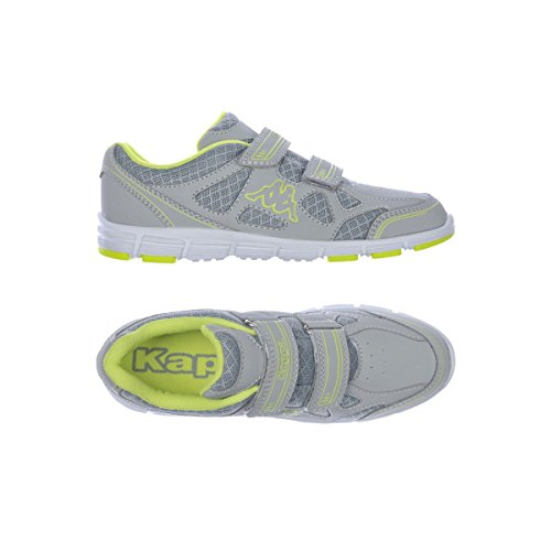 Sportschuhe - Kappa4training Vaporal V Kid - Kind Grey-Lime