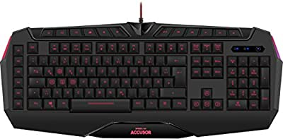Speedlink ACCUSOR Advanced Gaming Keyboard, Black