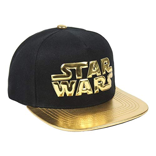 ARTESANIA CERDA Gorra Visera Plana Star Wars Gold