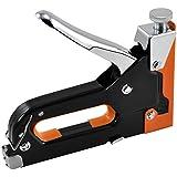 TRIXES Grapadora para Grapas de Metal de 4-8mm y 4-14mm en Acero Inoxidable de Alta Resistencia para Muebles Carpintería HUM (Hechos por Uno Mismo), etc.