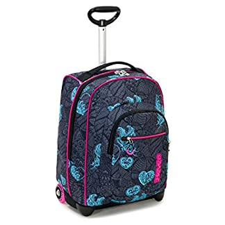 41jAOP V0wL. SS324  - Seven Trolley Fit Seven Colorflower Trolley para portátil 48 Centimeters 35 Negro (Nero)
