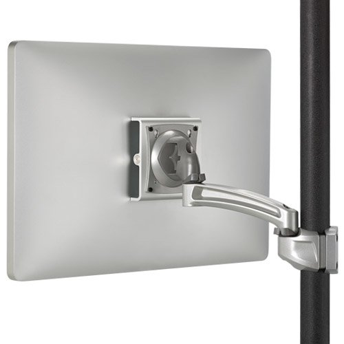Chief K2 Pole Mount Single Display Stand 1l Arm Silver by Chief Display Pole Mount