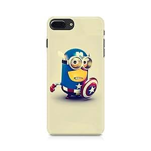 NXT GEN Captain America Minion Premium Printed Mobile Back Case For Apple iPhone 7 Plus