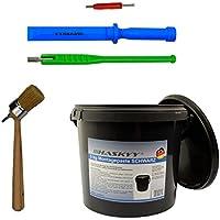 3kg Graisse de montage pour pneus Montagewax NOIR + Tournevis de vanne+ Extracteur de soupape Levier de vanne
