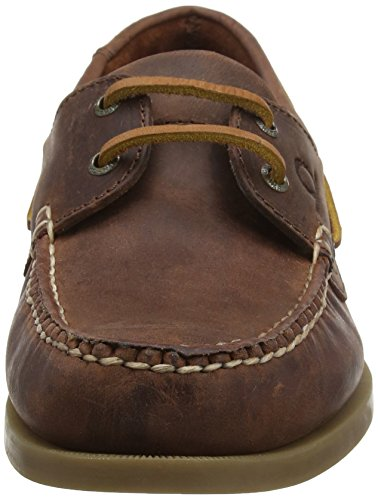 Chatham Herren Deck II G2 Bootschuhe Brown (Red Brown)