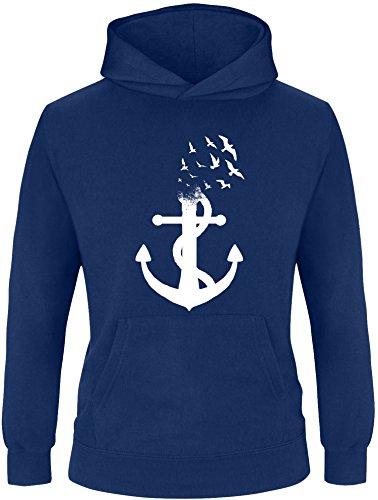 Billabong-strampler (EZYshirt® Anker Ocean Kinder Hoodie | Kinder Kapuzenpullover | Kinder Pullover)