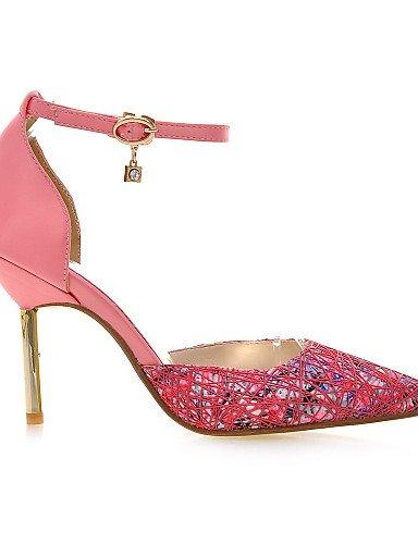 LFNLYX Chaussures Femme-Habillé / Décontracté / Soirée & Evénement-Noir / Rose / Gris-Talon Aiguille-Talons / D'Orsay & Deux Pièces / Bout Pointu gray