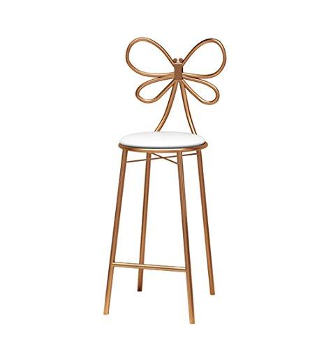 Eisen Barhocker Stuhl Bar kreative Barhocker Barhocker Hochhocker einfach zwanglos Esszimmerstuhl Restaurantstuhl (größe : 40 * 40 * 45CM) - Barhocker Eisen