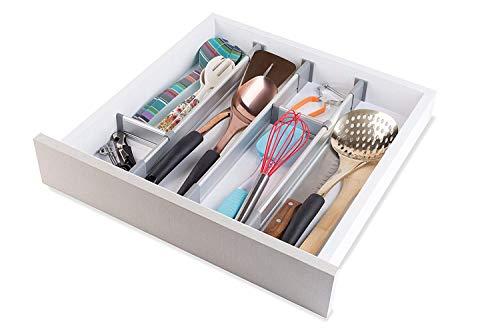 Practical Comfort Verstellbarer Schubladen-Organizer ...