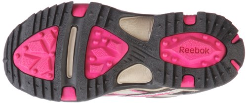 Reebok Run the Mud 180149 Unisex - Kinder Sportschuhe Braun/earth/charcoal brn/khaki/o.pink/blk