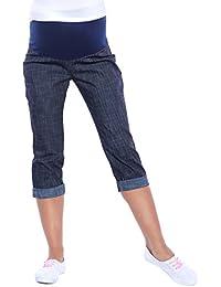 Mija - Maternidad Pantalones cosechados por encima de la barriga AJUSTABLES 3012