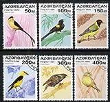 Azerbaijan 1996 Birds perf set of 6 fine cto used, SG 325-30* BIRDS JandRStamps