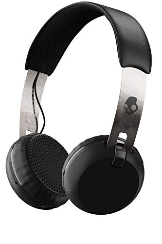 Skullcandy Grind Wireless, On-Ear Kopfhörer, Chrom