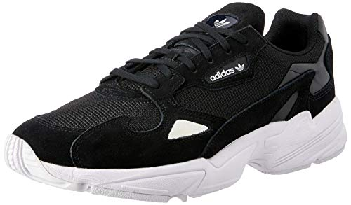 adidas Falcon W, Sneaker Donna, Multicolore (Black Cblack/Ftwwht), 40 EU