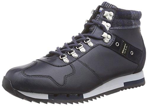 Blauer USARUNMID/TAR - Sneaker uomo , Blu (Blu navy), 44