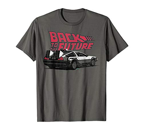 Adults or Kids Back To the Future DeLorean T-Shirt