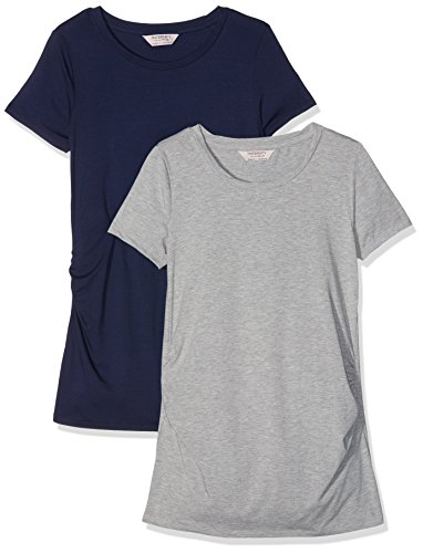 Dorothy Perkins Maternity Women's Round Neck T-Shirt- Set of 2