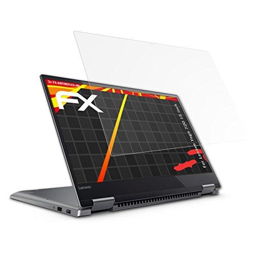 atFolix Schutzfolie kompatibel mit Lenovo Yoga 720 15 inch Bildschirmschutzfolie, HD-Entspiegelung FX Folie (2X)