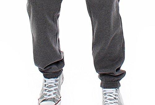 Gennadi Hoppe Herren Jogginganzug Trainingsanzug Sportanzug Freizeitanzug Hausanzug Grau
