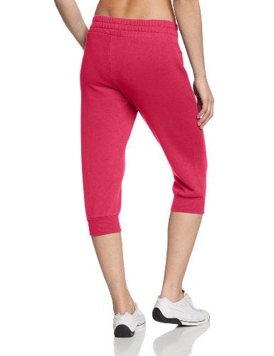 PUMA Damen 3/4 Jogginghose Capri Sweat Pants, 828086 Beetroot Purple