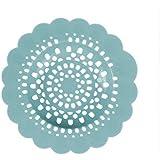 Westeng Filtre de Vidange de Salle de Bains Forme Fleur Filtre à Cheveux pour Baignoire Filtre Cuisine