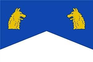 magFlags Flagge: XL Ballobar   Ballobar-Huesca-Spain   Querformat Fahne   2.16m²   120x180cm » Fahne 100% Made in Germany