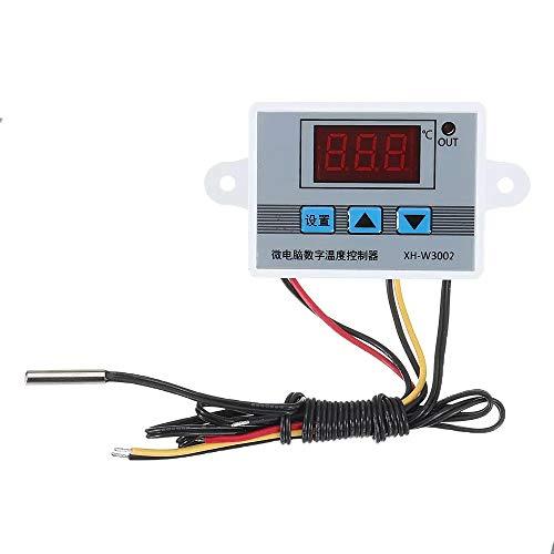 Für Arduino-Kits Zubehör XH-W3002 Micro Digital Thermostat Hochpräzisions-Temperaturregelung Schalter Heizen und Kühlen Genauigkeit 0,1
