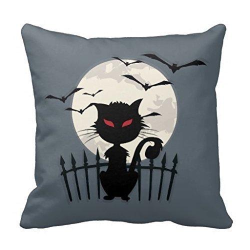 LoveBiuBiu Halloween Ca18x18cm Cotton Linen Pillow Cushion Cover (Halloween Tiger Daniel)